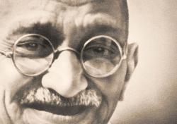 Wallpaper from proposed Ubuntu Gandhi Edition