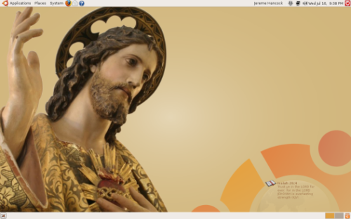 Christ on the Desktop